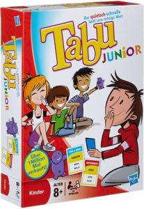 Tabu Junior, Spiel ab 8 Jahre, Spiele ab 8 Jahre, Brettspiele, Brettspiel, Gesellschaftsspiel, Gesellschaftsspiele, Familienspiel, Familienspiele