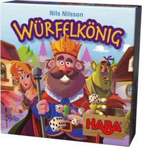Würfelkönig, HABA, Spiel ab 8 Jahre, Spiele ab 8 Jahre, Brettspiele, Brettspiel, Gesellschaftsspiel, Gesellschaftsspiele, Familienspiel, Familienspiele