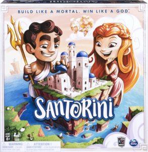 Santorini, Spiel ab 8 Jahre, Spiele ab 8 Jahre, Brettspiele, Brettspiel, Gesellschaftsspiel, Gesellschaftsspiele, Familienspiel, Familienspiele