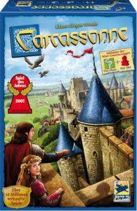 Carcassonne, Spiel ab 8 Jahre, Spiele ab 8 Jahre, Brettspiele, Brettspiel, Gesellschaftsspiel, Gesellschaftsspiele, Familienspiel, Familienspiele